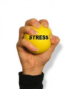 Tegn på stress hos Kirsten-K