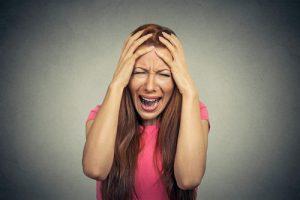 Kvinde med stresssymptomerv Kirsten-K